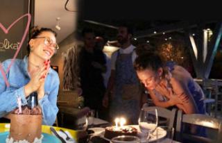 Serenay yeni yaşını kutladı