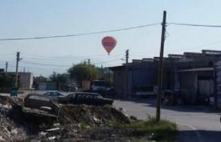 Turistler Pamukkale için havalandı, sanayi sitesine...