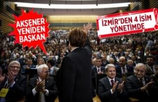 Akşener yeniden genel başkan seçildi