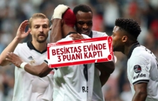Beşiktaş sezonu 3 puanla açtı