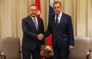 Çavuşoğlu ile Lavrov'dan Ankara'da Suriye...