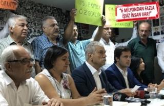 CHP'li Beko'dan, işsizlik rakamlarına tepki