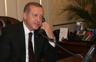 Cumhurbaşkanı Erdoğan, Kuveyt Emiri El Sabah ile...