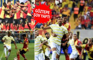 Göztepe, Fenerbahçe'ye kabusu yaşattı!