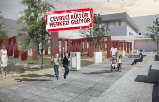 """İzmir'e """"en çevreci"""" kültür merkezi..."""