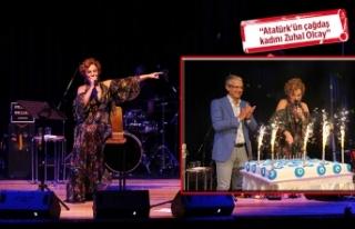 Zuhal Olcay'a Karşıyaka'da sürpriz doğum...