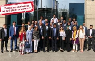 AK Parti İzmir Gençlik Kolları'ndan 12 Eylül...