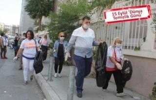 AK Parti Konak'tan 'çöp' eleştirisi