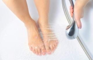 Bacaklarınıza soğuk duş aldırın çünkü...