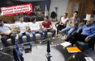 Bayraklı'nın yeni üniversitelileri, Karabağ'a...