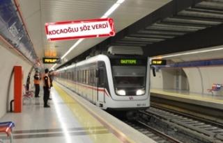 Bir ilçenin daha metro hayali gerçek olacak