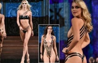Bu bikiniler yine podyumu salladı!