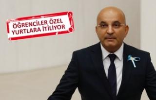 CHP'li Polat, öğrencilerin yurt sorunlarını...