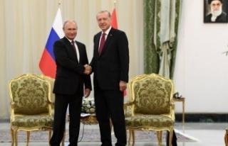 Erdoğan-Putin pazartesi görüşecek