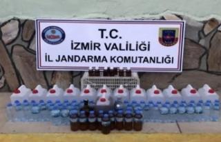 İzmir'desahte içkioperasyonu