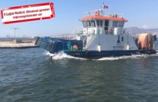 Korkutan açıklama: İzmir denizine temas eden hasta...
