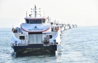 Tramvay projesi, deniz ulaşımına da fayda sağladı