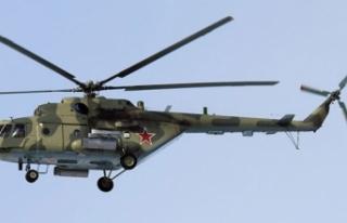 Afganistan'da helikopter kazası..