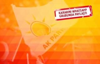 AK Parti İzmir'de flaş istifa!