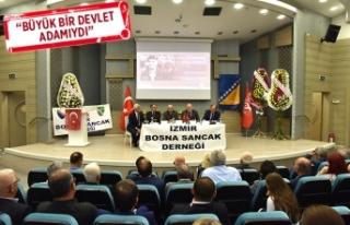 Aliya İzzetbegoviç Bornova'da anıldı