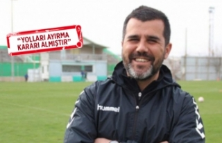 Altay'ın teknik direktörü istifa etti!