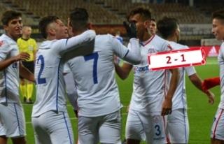 Altınordu UEFA Gençlik Ligi'nde 2. tura yükseldi