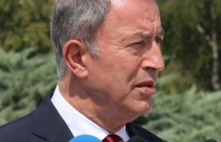 Bakan Akar'dan terör saldırısı açıklaması