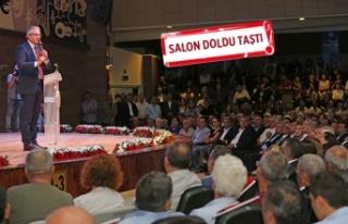 Başkan Akpınar 4,5 yılın 'hesabını verdi'