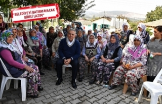 Başkan Kocaoğlu'ndan yeni belediye başkanı...