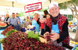 Bornova'nın köyleri, üretim ve turizmle kalkınıyor
