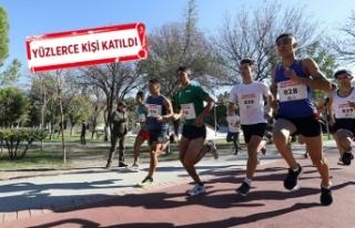 Bucalılar eski milli atlet Safter Karabağlı anısına...