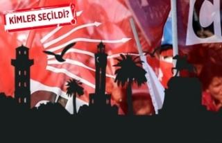 CHP İzmir'de 4 ilçe başkanı belli oldu!