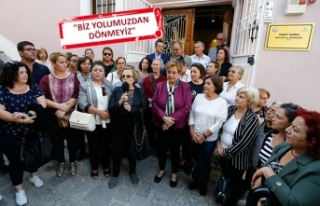 CHP İzmir'in kadınlarından 'İnönü'...