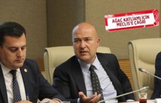 CHP'li Bakan'dan çevre komisyonuna İzmir...