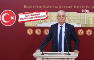 CHP'li Beko: Sendikal hak suç değil, işçiler...