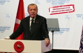Erdoğan'dan 'eğitim' mesajı!