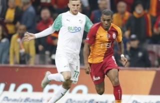 Galatasaray, Bursaspor ile yenişemedi