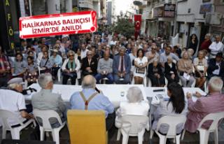 Halikarnas Balıkçısı, İzmir'de anıldı