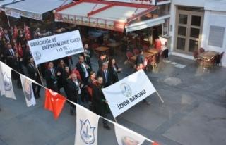 İzmir Barosu Cumhuriyet Bayramı'nı coşkuyla...