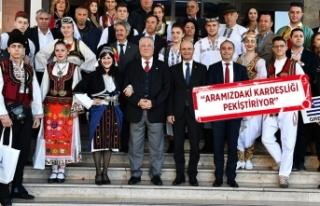İzmir'de 'balkan' buluşması
