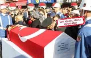 İzmir'de şehide yürek yakan veda