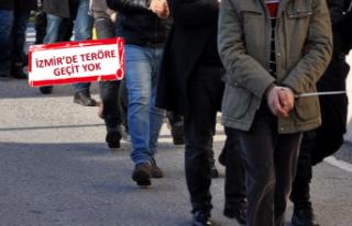 İzmir'de teröre darbe! PKK gösterilerini organize...