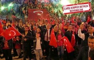 Karşıyaka'da Cumhuriyet coşkusu!