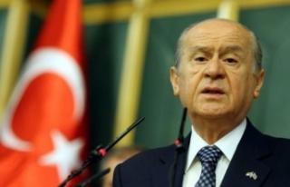 MHP lideri Bahçeli'den 'Andımız'...