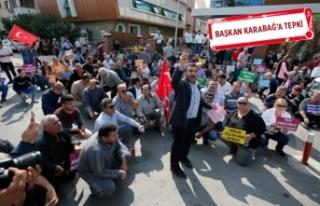 Pazarcılardan belediye önünde eylem!