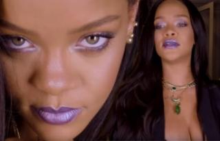 Rihanna'dan makyaj dersi! Milyonlarca hayranıyla...