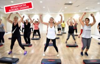 Step, Aerobik ve Pilates Kursları için kış dönemi...