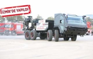 Türkiye'nin ilk elektrikli itfaiye aracı geliyor!