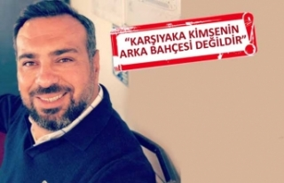 AK Partili Baran'dan Karşıyaka için flaş...