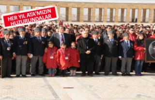 Balçovalı Çocuklar Ata'ya gidiyor